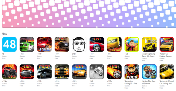 Source: http://venturebeat.com/2014/11/18/apples-gaming-app-store-is-broken-promoting-games-like-119-and-1111/