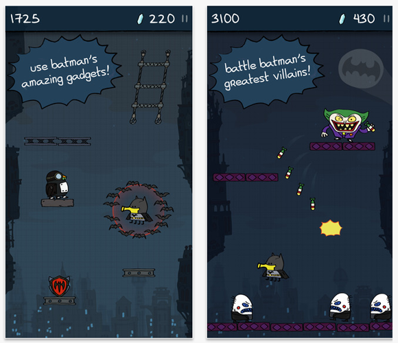 Lima Sky Announces Doodle Jump Dc Super Heroes Brus Media